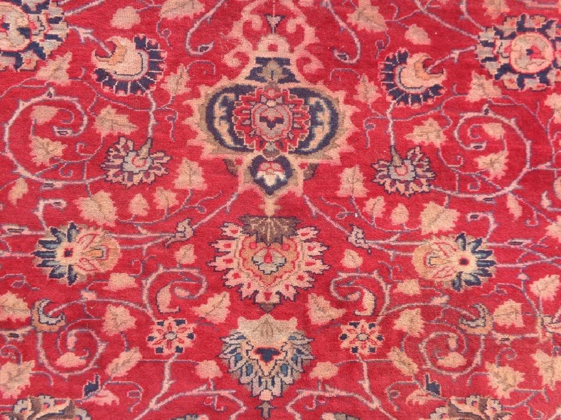 Semi Antique Persian Mashad Rug 10x7 - 2