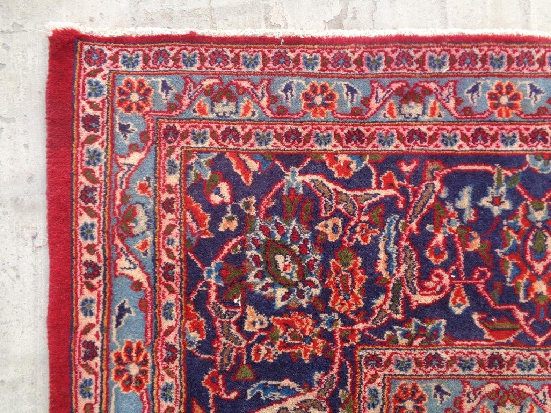 Semi Antique Persian Kashan Rug 13x10 - 6