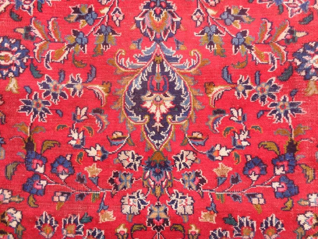 Semi Antique Persian Kashan Rug 13x10 - 2