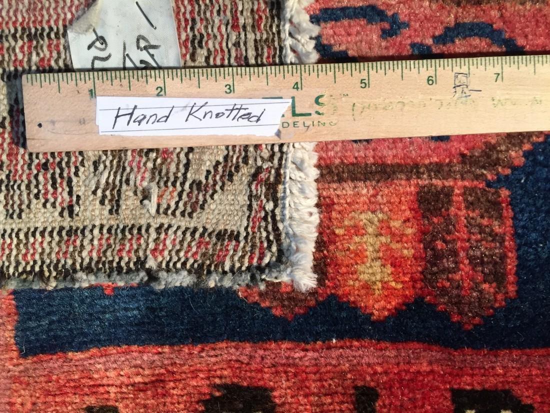 Persian Semi Antique Bakhtiari Runner Rug 3.5x10 - 7