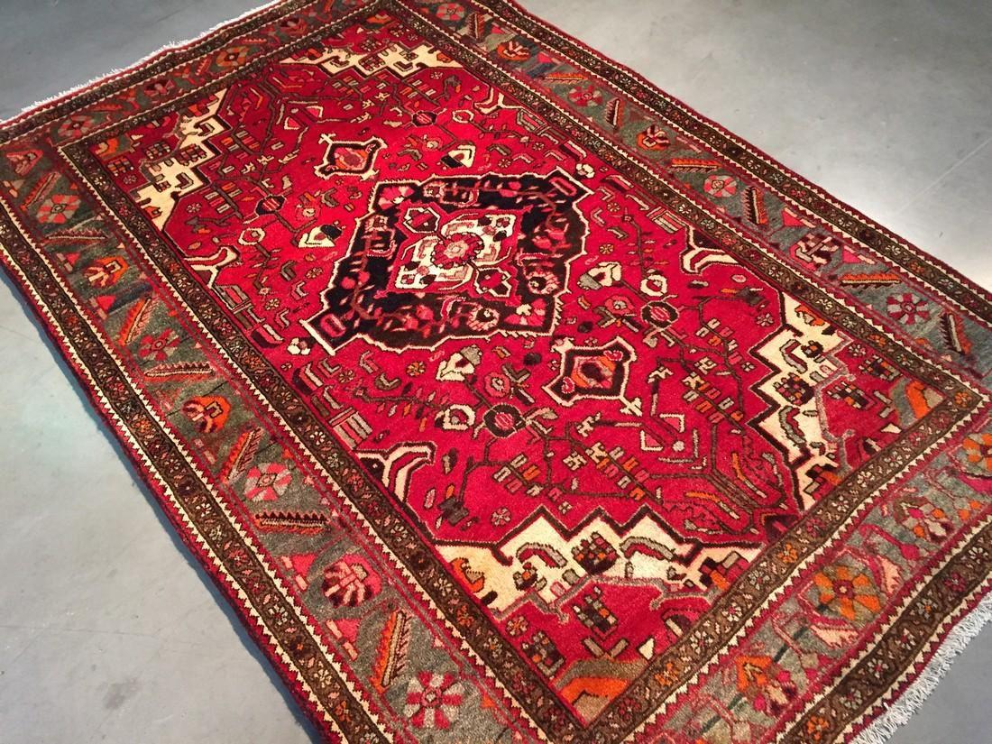 Authentic Tribal Persian Hamedan Rug 4x7