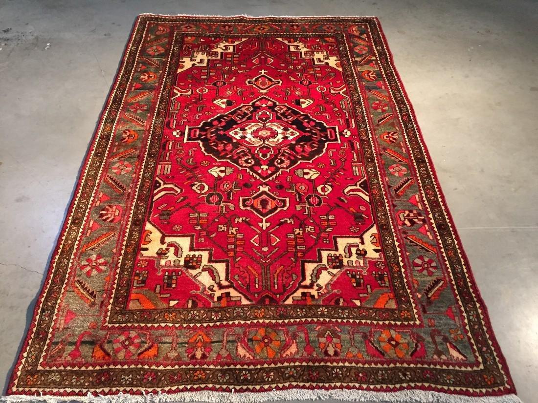 Authentic Tribal Persian Hamedan Rug 4x7 - 5