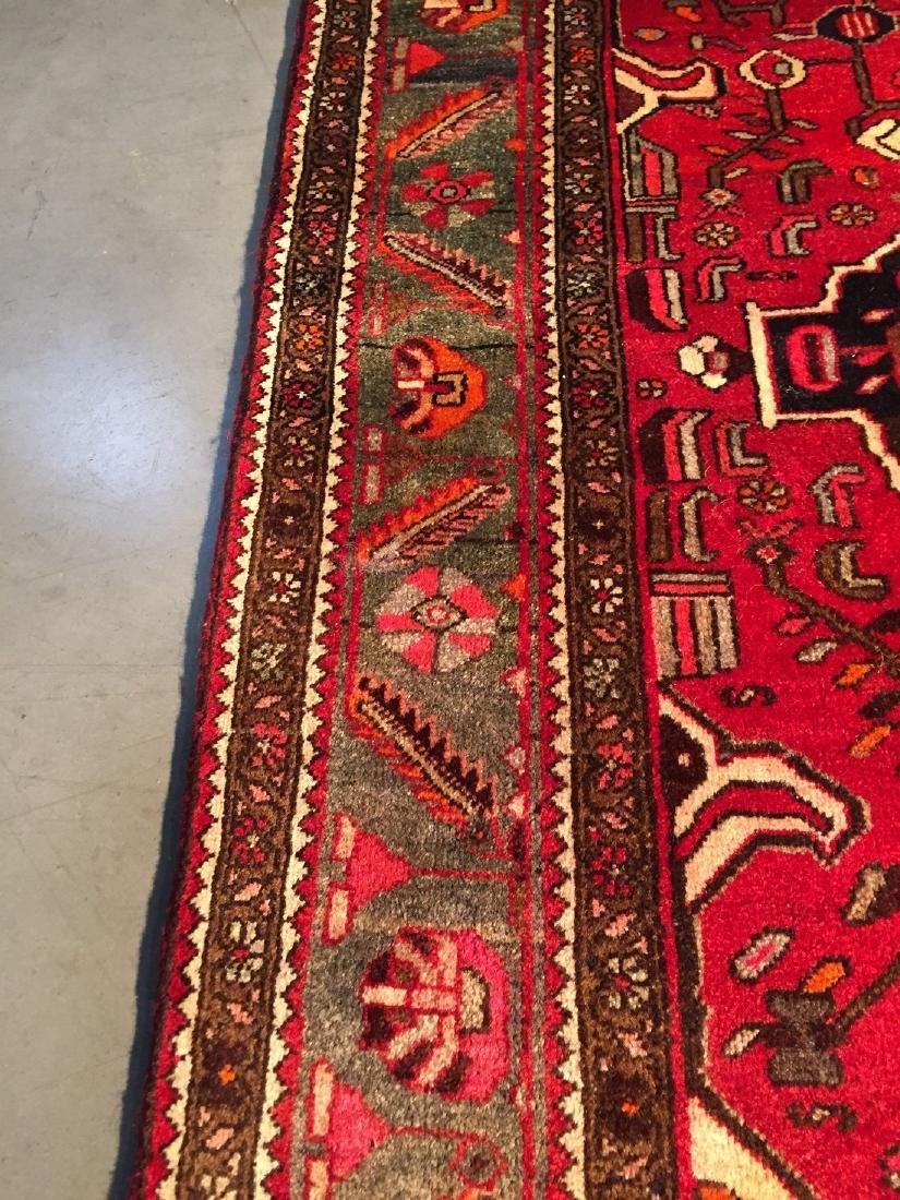 Authentic Tribal Persian Hamedan Rug 4x7 - 7