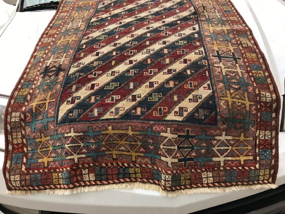 Antique Caucasian Shahsavan Rug 3x5 - 3