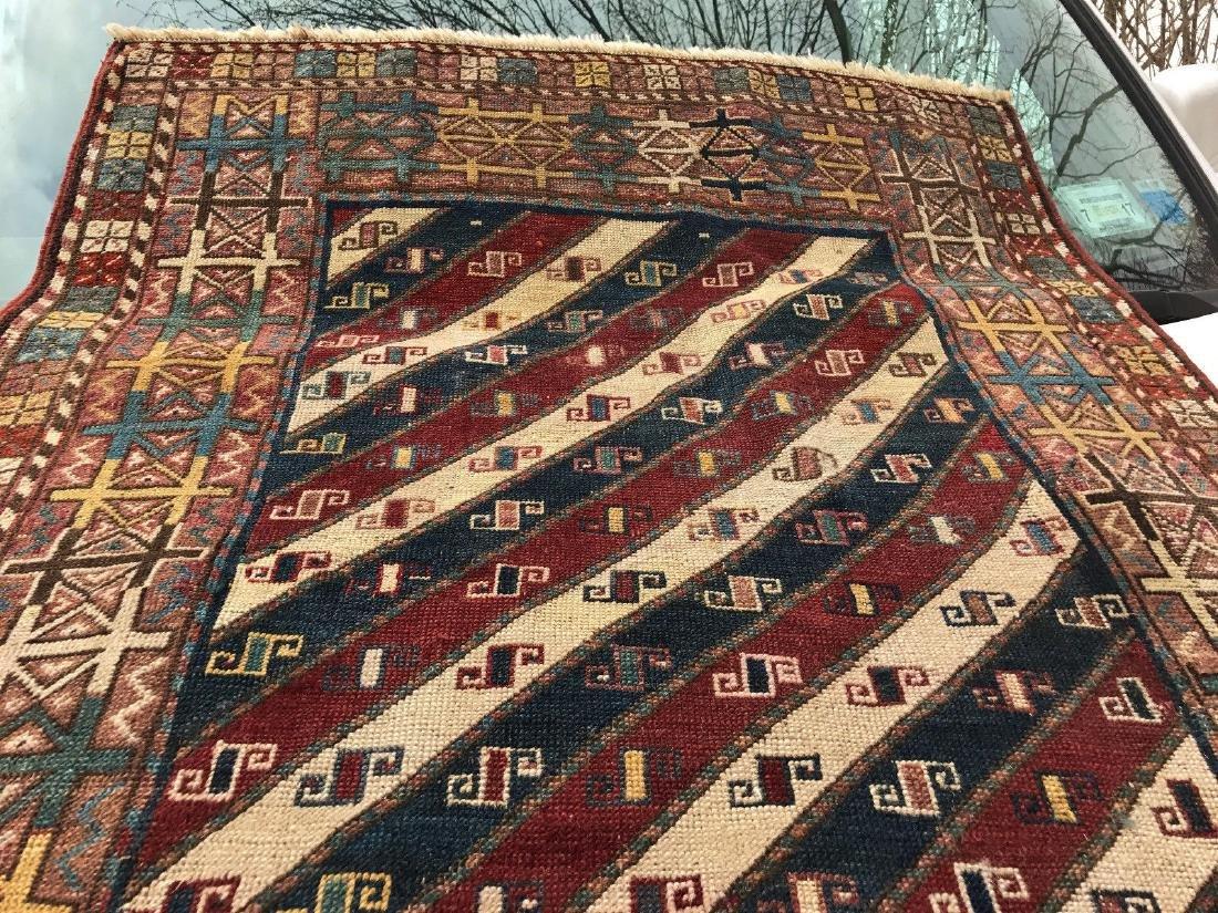 Antique Caucasian Shahsavan Rug 3x5 - 6