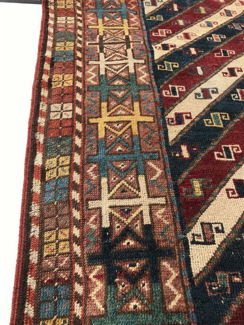 Antique Caucasian Shahsavan Rug 3x5 - 7