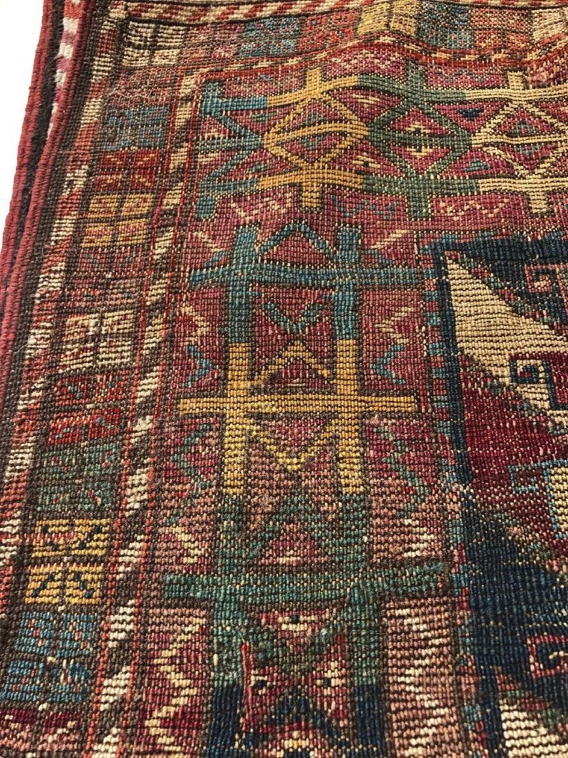 Antique Caucasian Shahsavan Rug 3x5 - 9