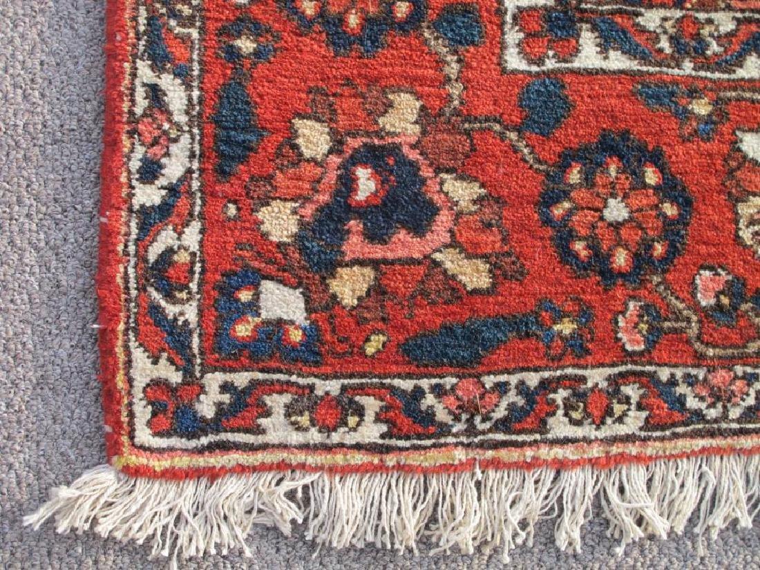 Handmade Wool Semi Antique Persian Bakhtiari Rug 10x7 - 3