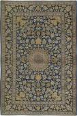 Fine Semi Antique Persian Kashan Rug 4x7