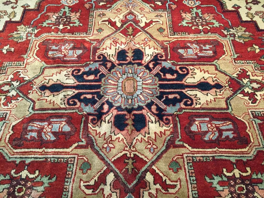 Classic Persian Heriz Design Rug 8x10 - 2