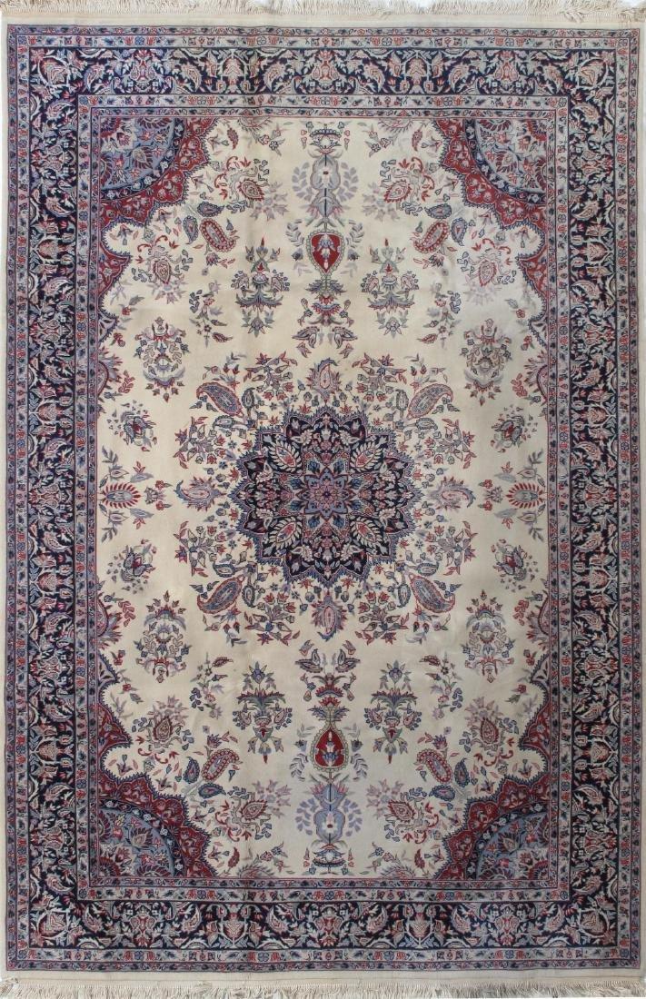 Fine Semi Antique Persian Design Rug 6.7 x 9.11