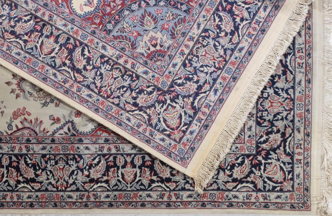 Fine Semi Antique Persian Design Rug 6.7 x 9.11 - 4