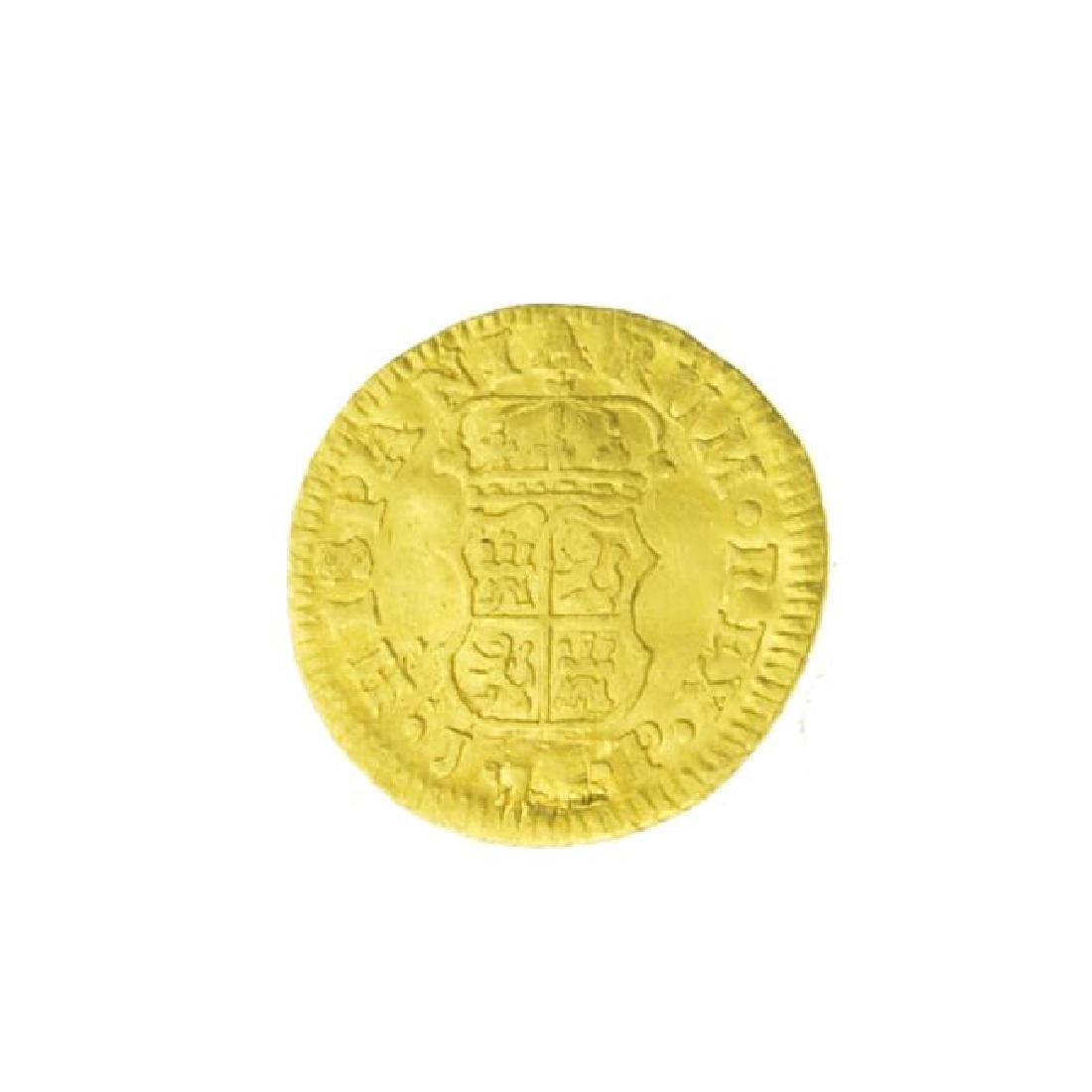 1760 Spanish Cob Gold Coin (JG) - 2