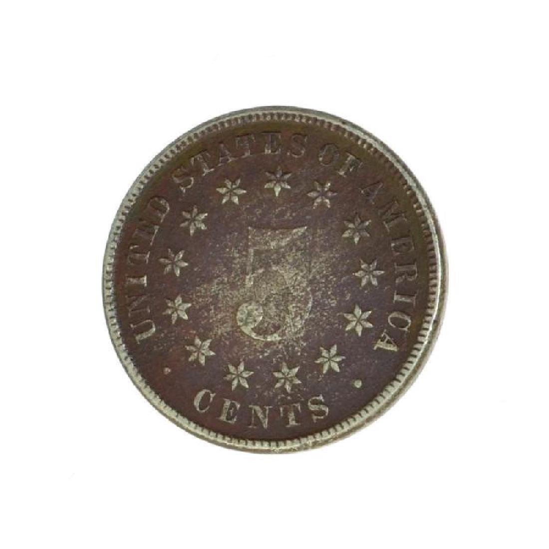 1882 Shield Nickel Coin (JG)