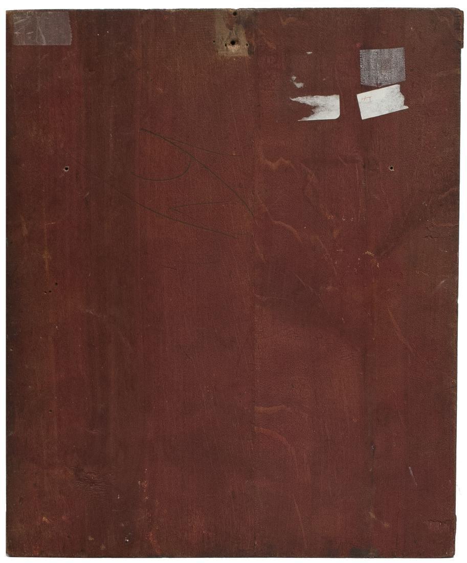 John the Baptist Russian Icon, 19th C - 2