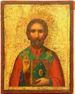 Russian Saint Russian Icon, 1800