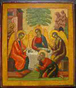 The Old Trinity Russian Icon, 18th C