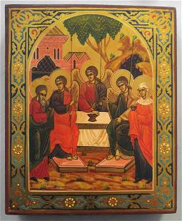 Russian Icon of the Trinity
