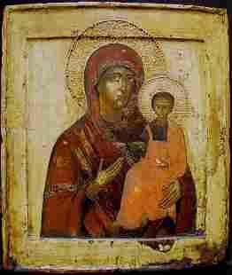 Mother of Smolenskaja Icon, 17th C