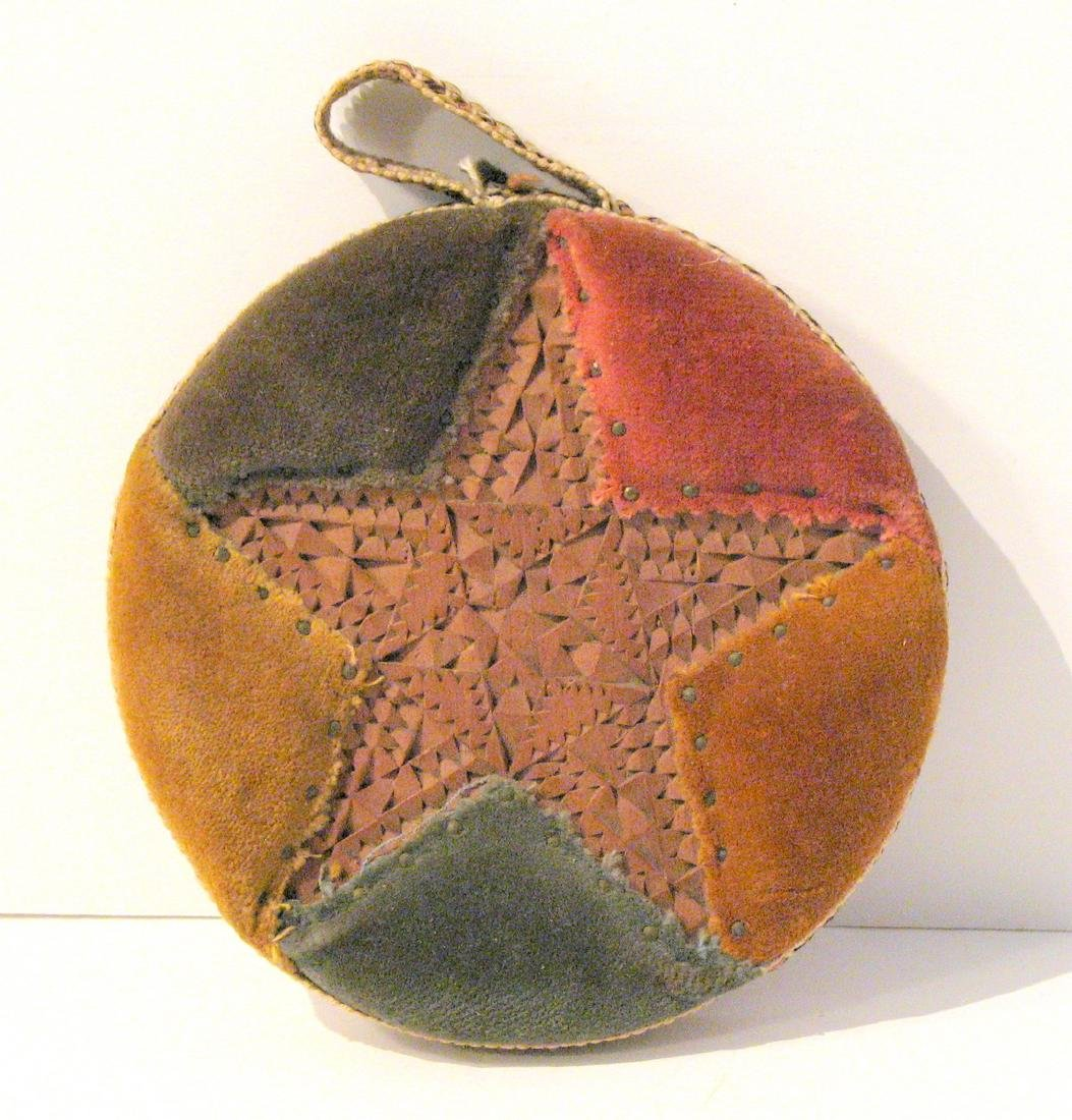 Mulit-Color Star Carved Pincushion