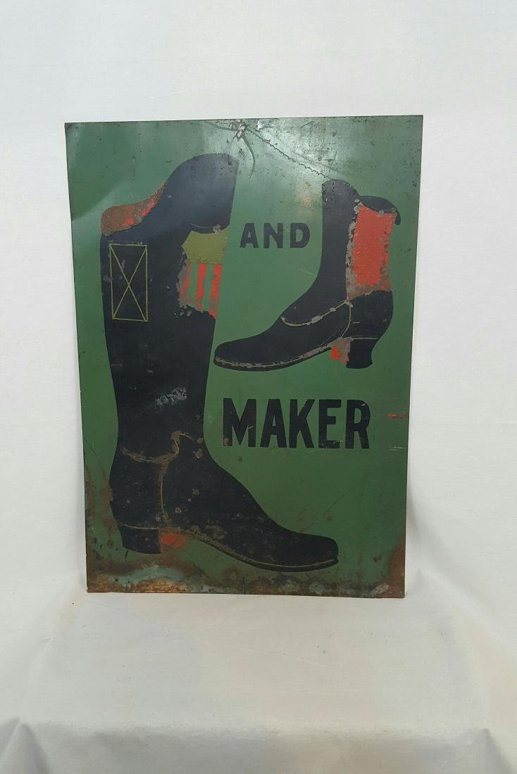 Boot and Shoe Trade Sign - 2