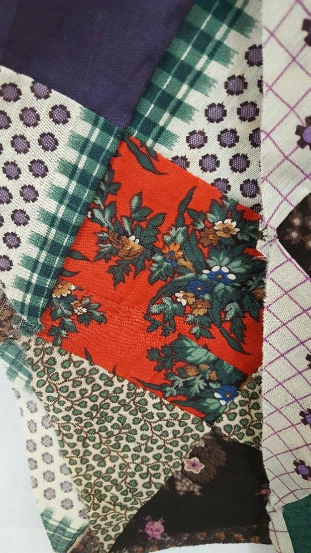Lot of 19th Century Fabrics - 4
