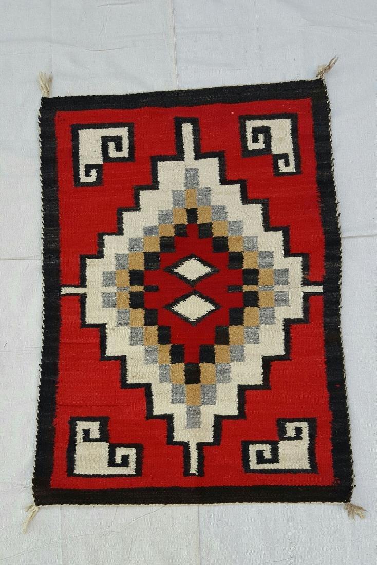 Navajo Ganado Woven Rug