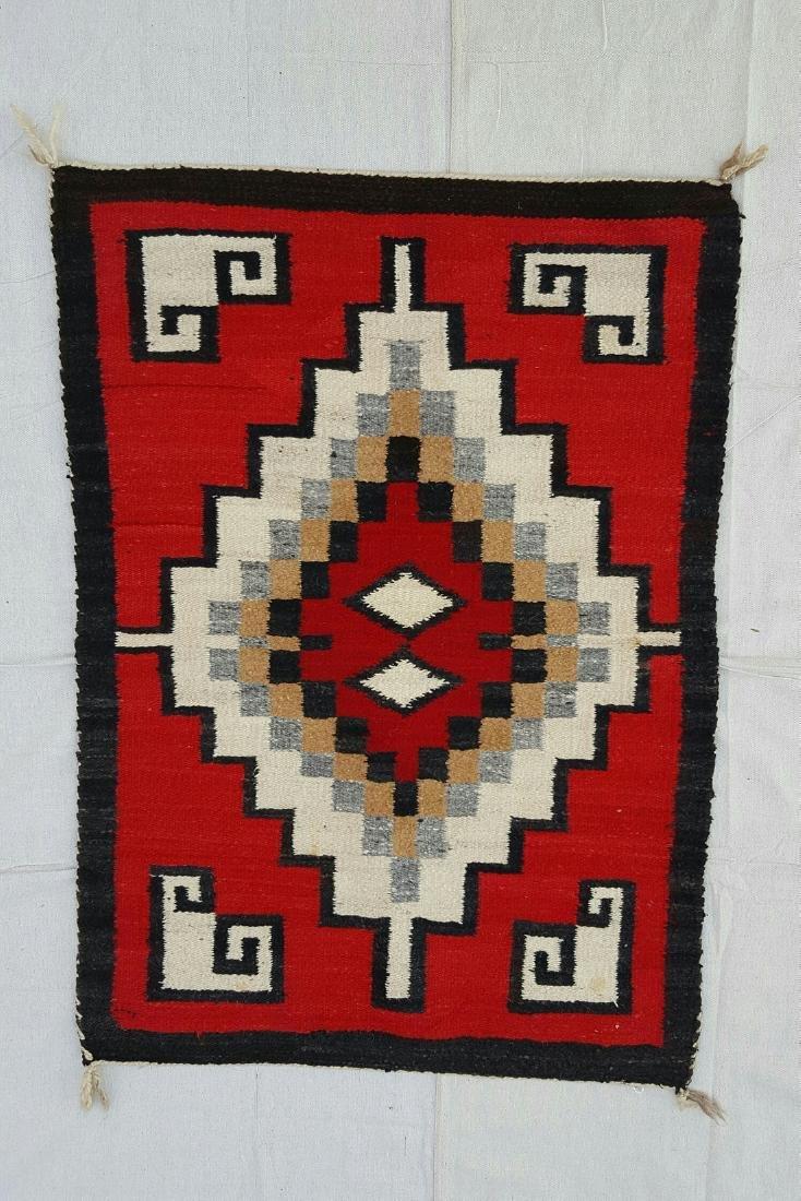Navajo Ganado Woven Rug - 2