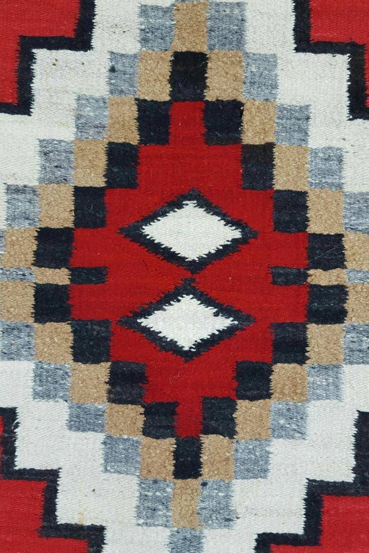Navajo Ganado Woven Rug - 3