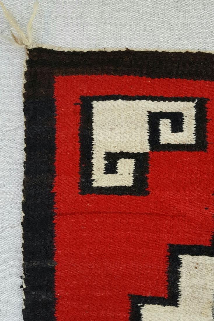 Navajo Ganado Woven Rug - 4