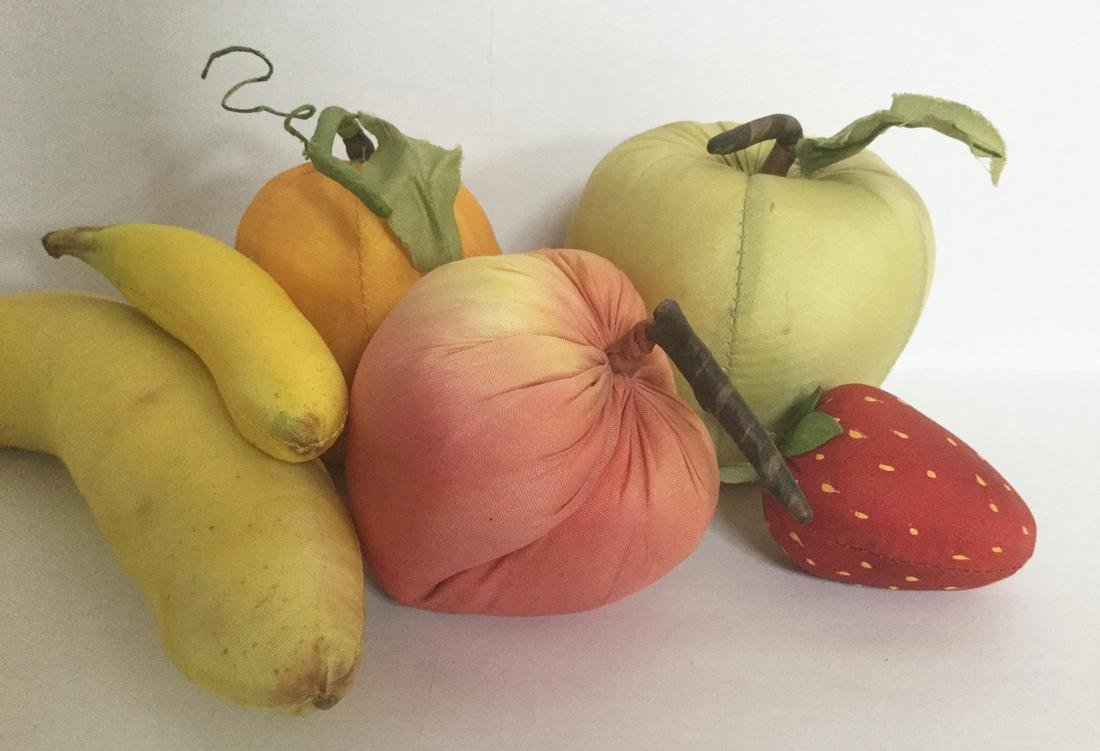 Six Pieces of Silk Fruit - 3