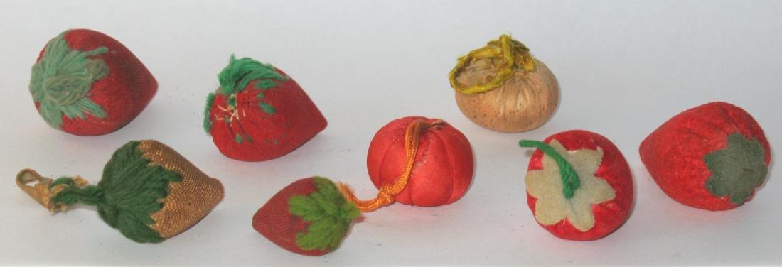 Eight Vintage Strawberry Emories - 2