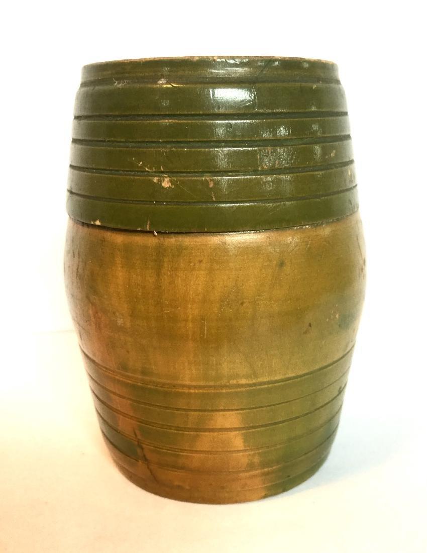 Treenware Barrel Container