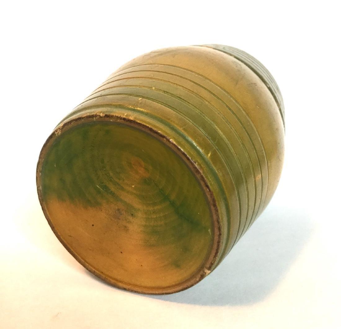 Treenware Barrel Container - 2