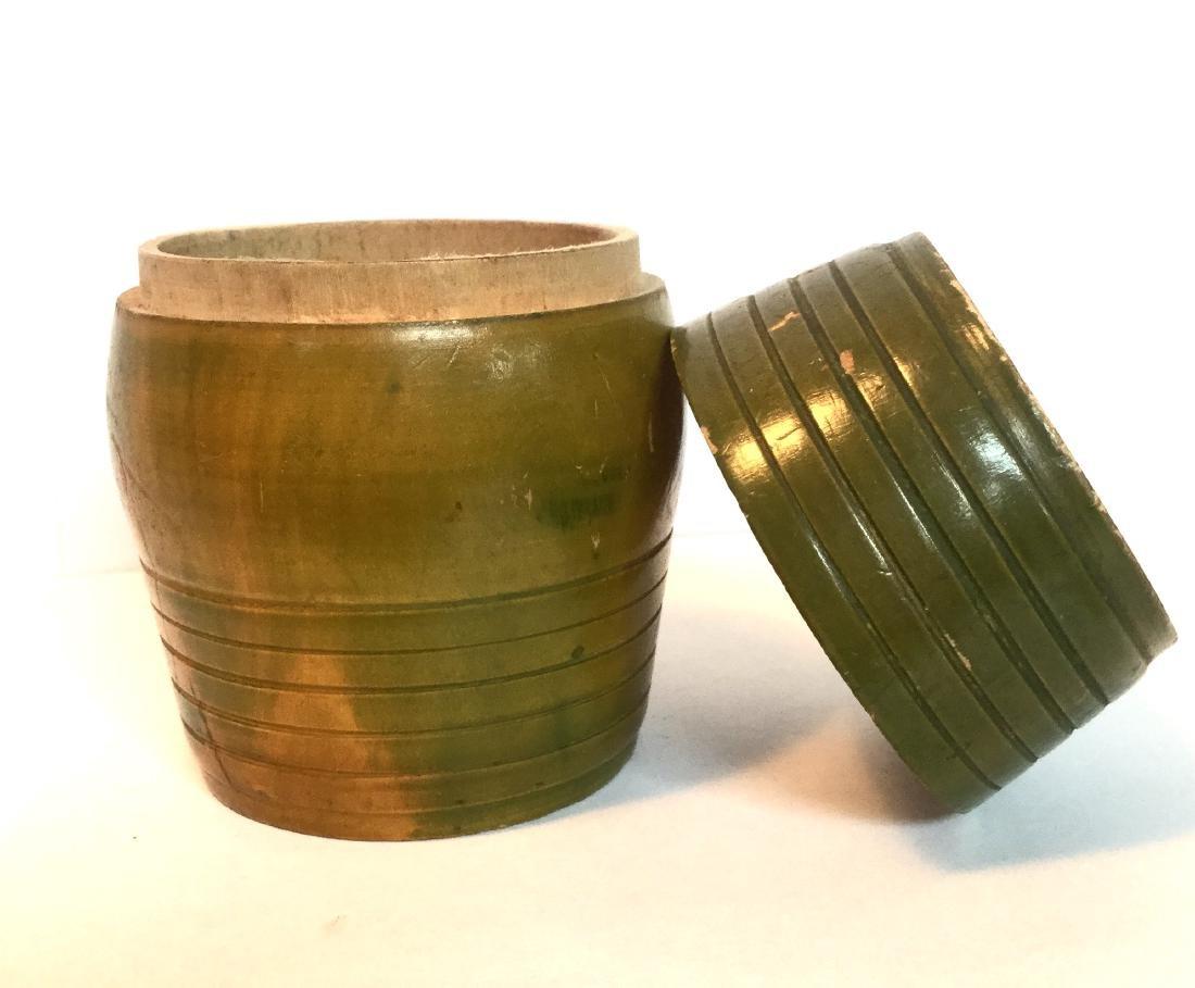 Treenware Barrel Container - 4