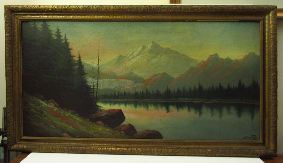 Lorenz Griffith Grand Lake, Co Painting