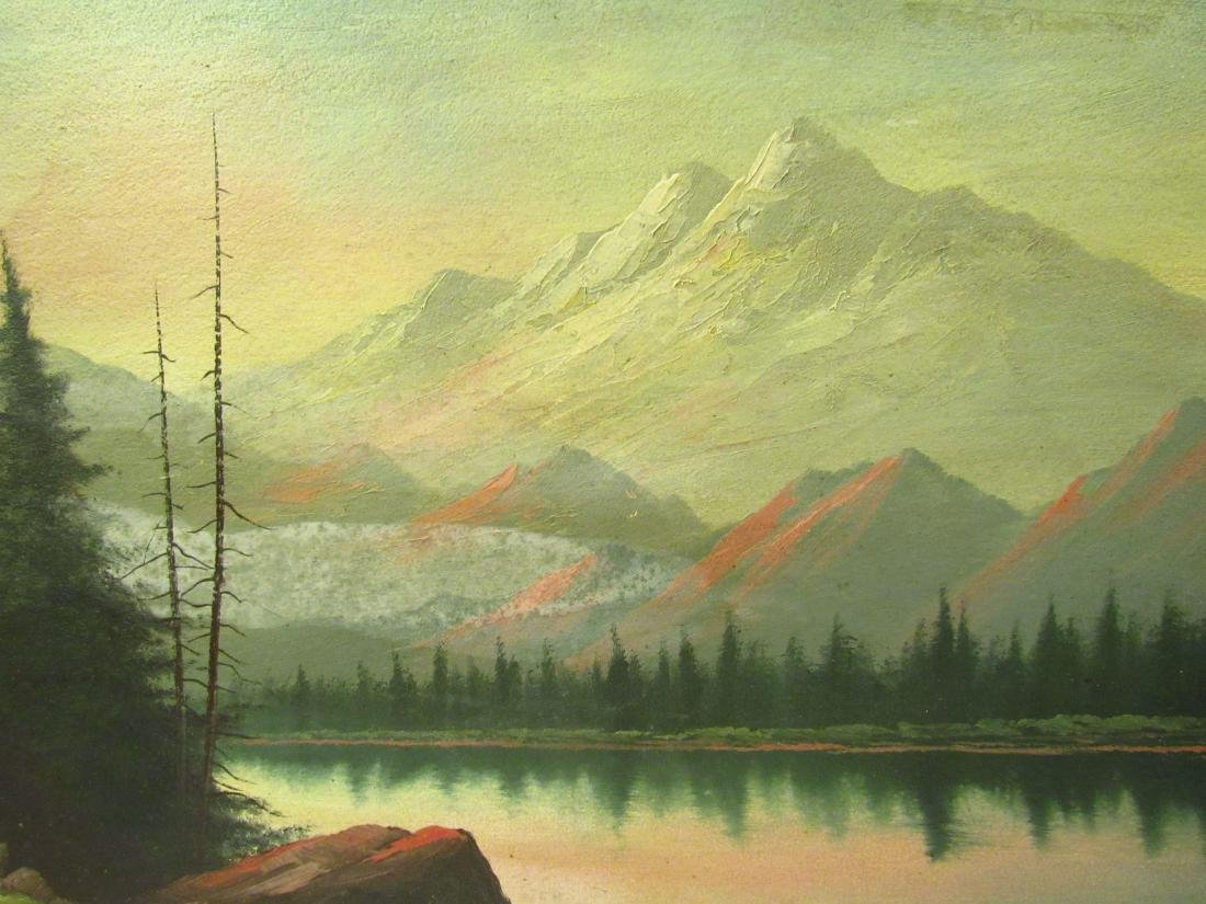 Lorenz Griffith Grand Lake, Co Painting - 2