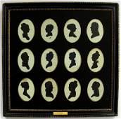 Group of Silhouettes Rose Family of Philadelphia