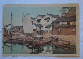 Hiroshi Yoshida: Kura in Tomonomura