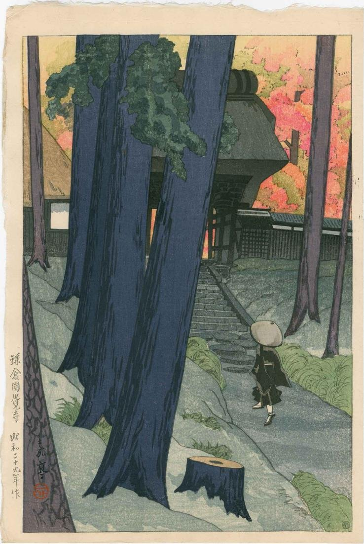 Katei Muto: Engakuji Temple in Kamakura