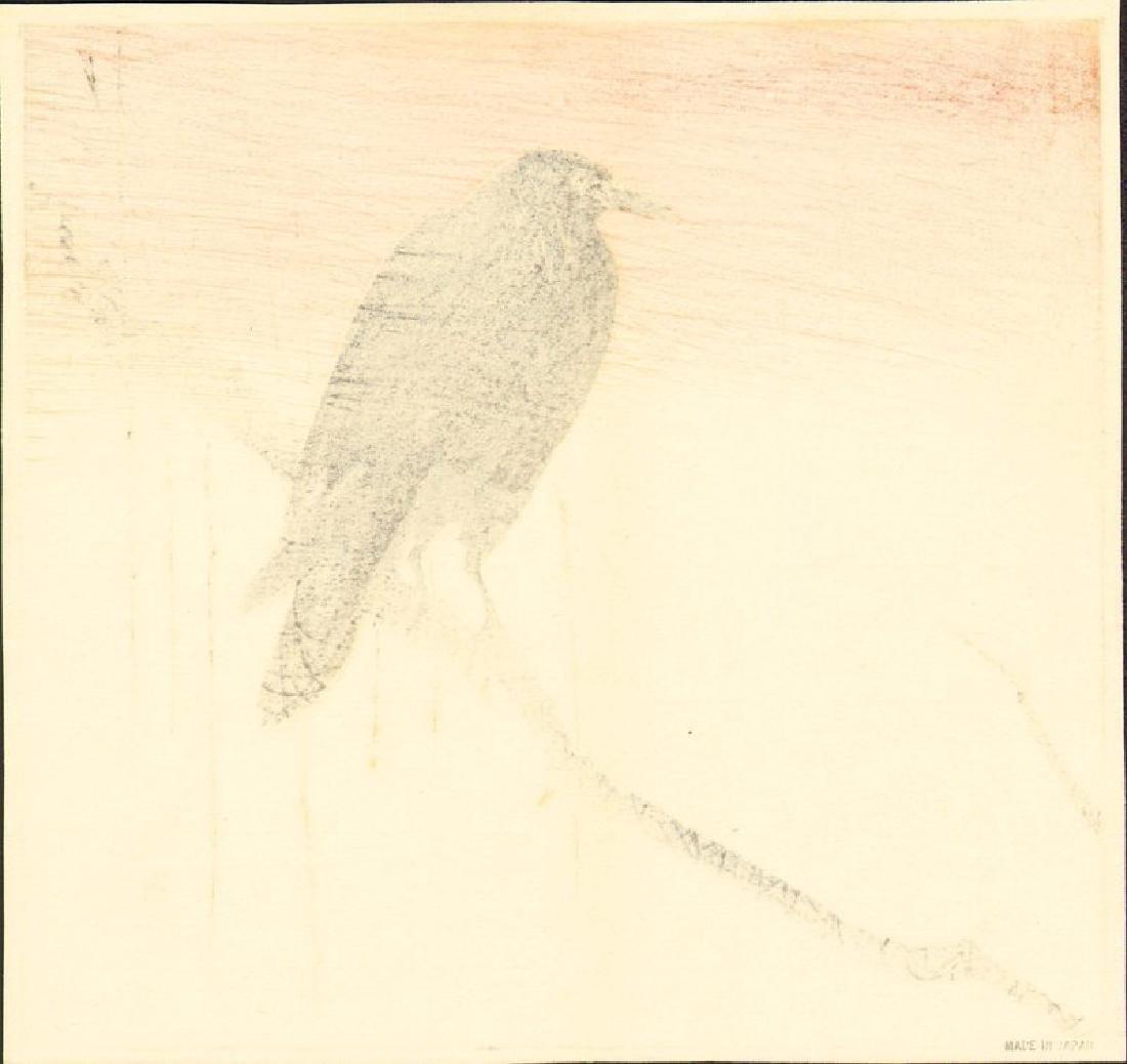 Okuhara Seiko: Crow and Orange Sky - 2