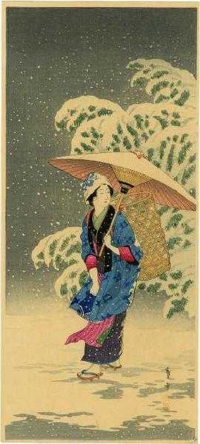 Shotei (Hiroaki Takahashi): Spring Snow