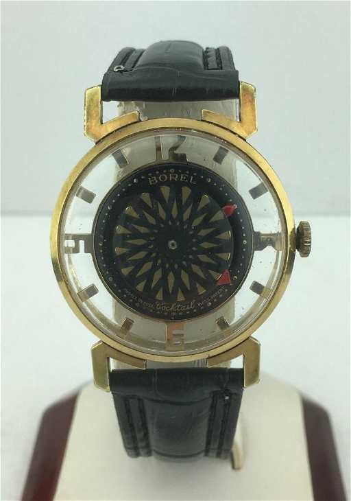 Vintage Ernest Borel Skeleton Kaleidoscope Watch 30560cc3d8e