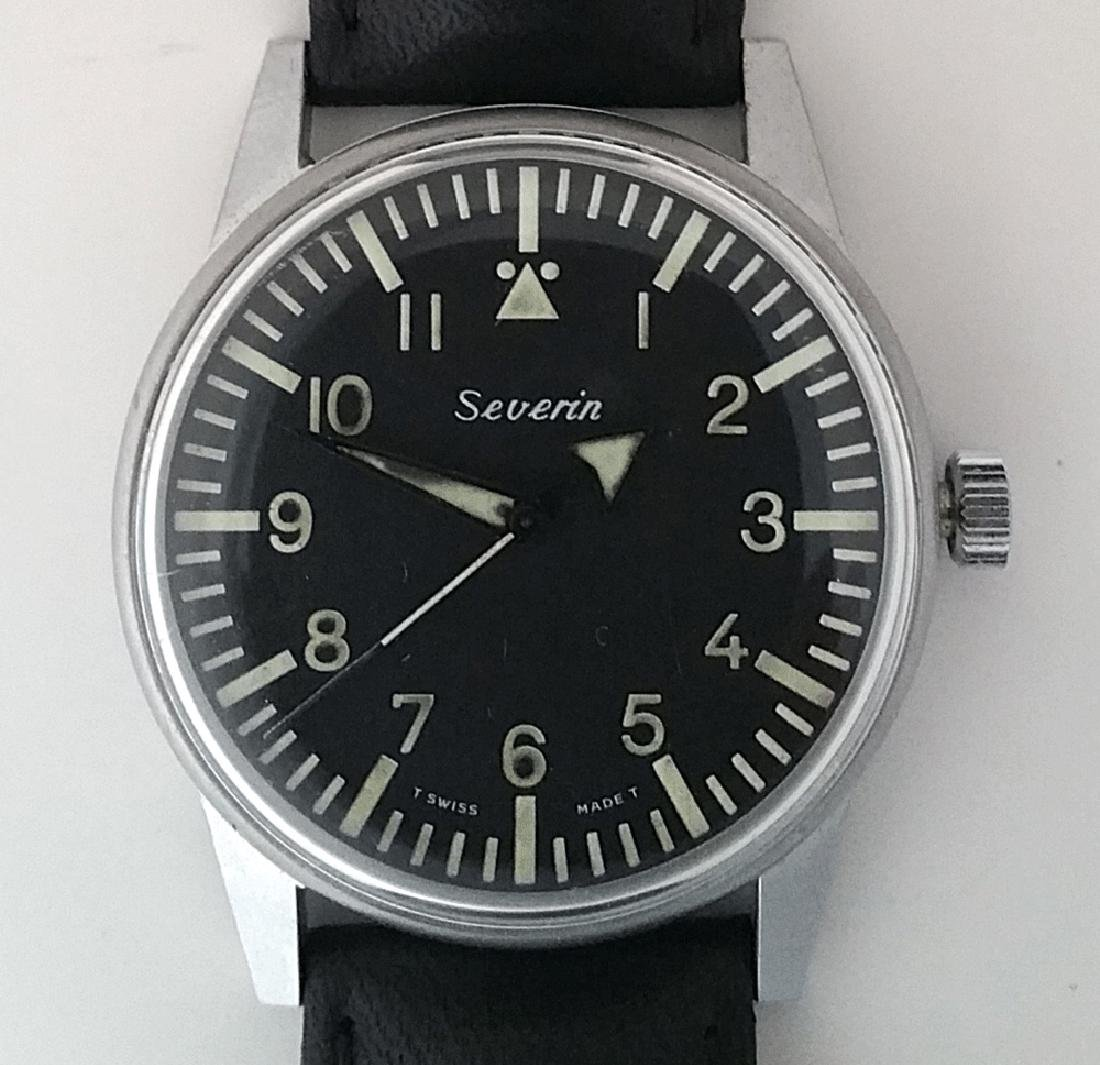 Vintage Severin Military Issue Watch