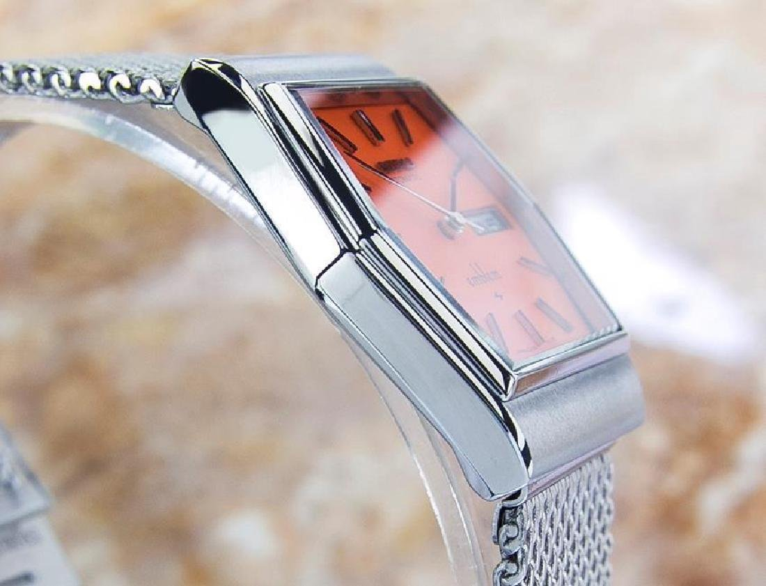 Vintage Seiko Emblem Stainless Steel Automatic Watch - 7