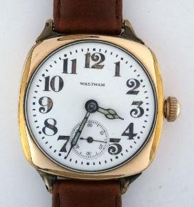 Antique Waltham WW1 Officer Trench Watch