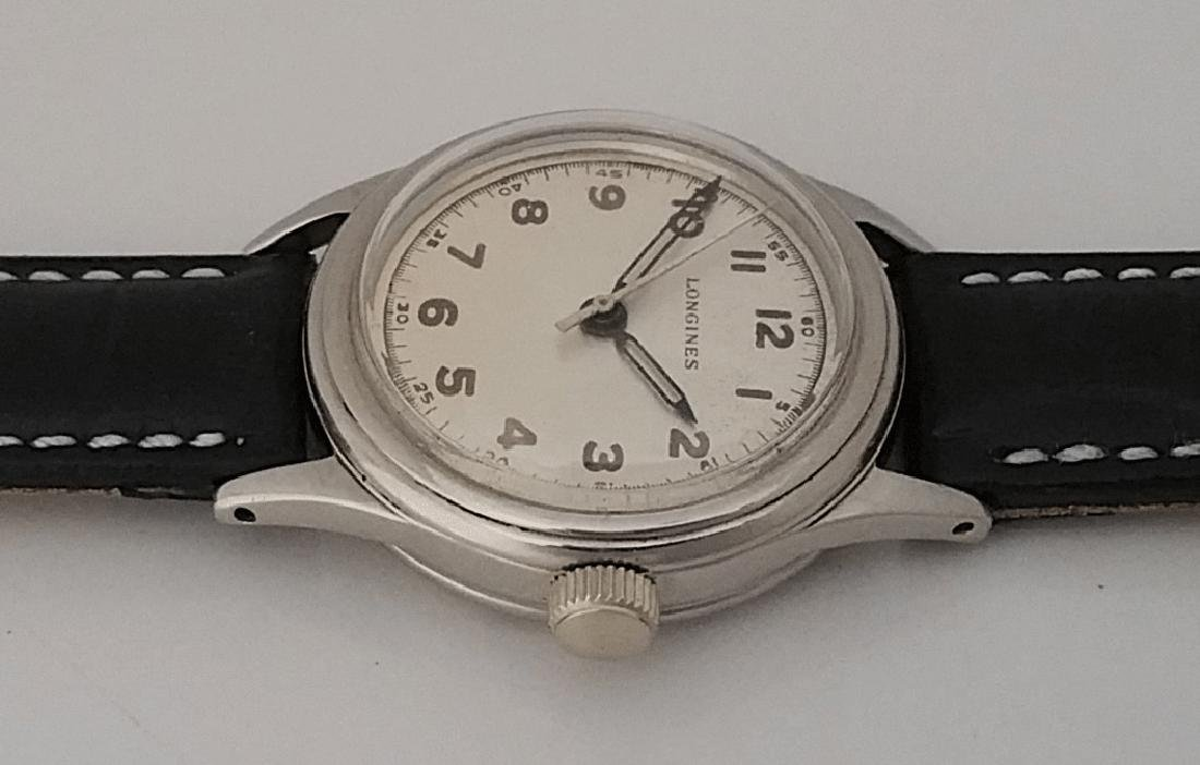 Vintage Longines Marine Nationale French Navy Watch - 2