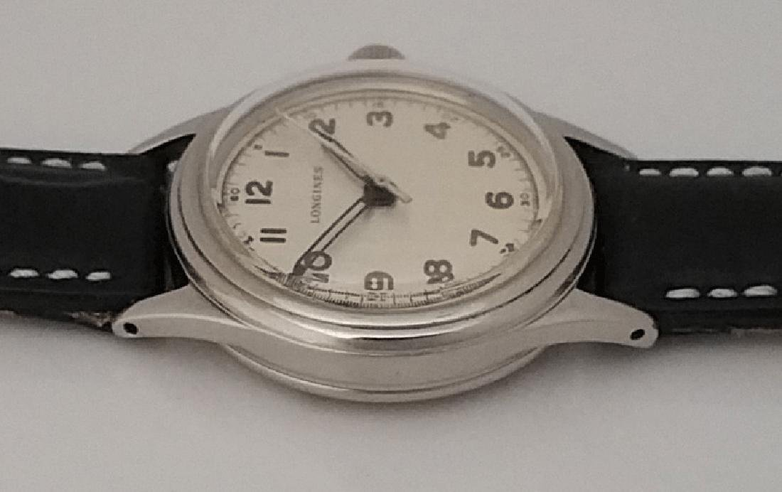 Vintage Longines Marine Nationale French Navy Watch - 3