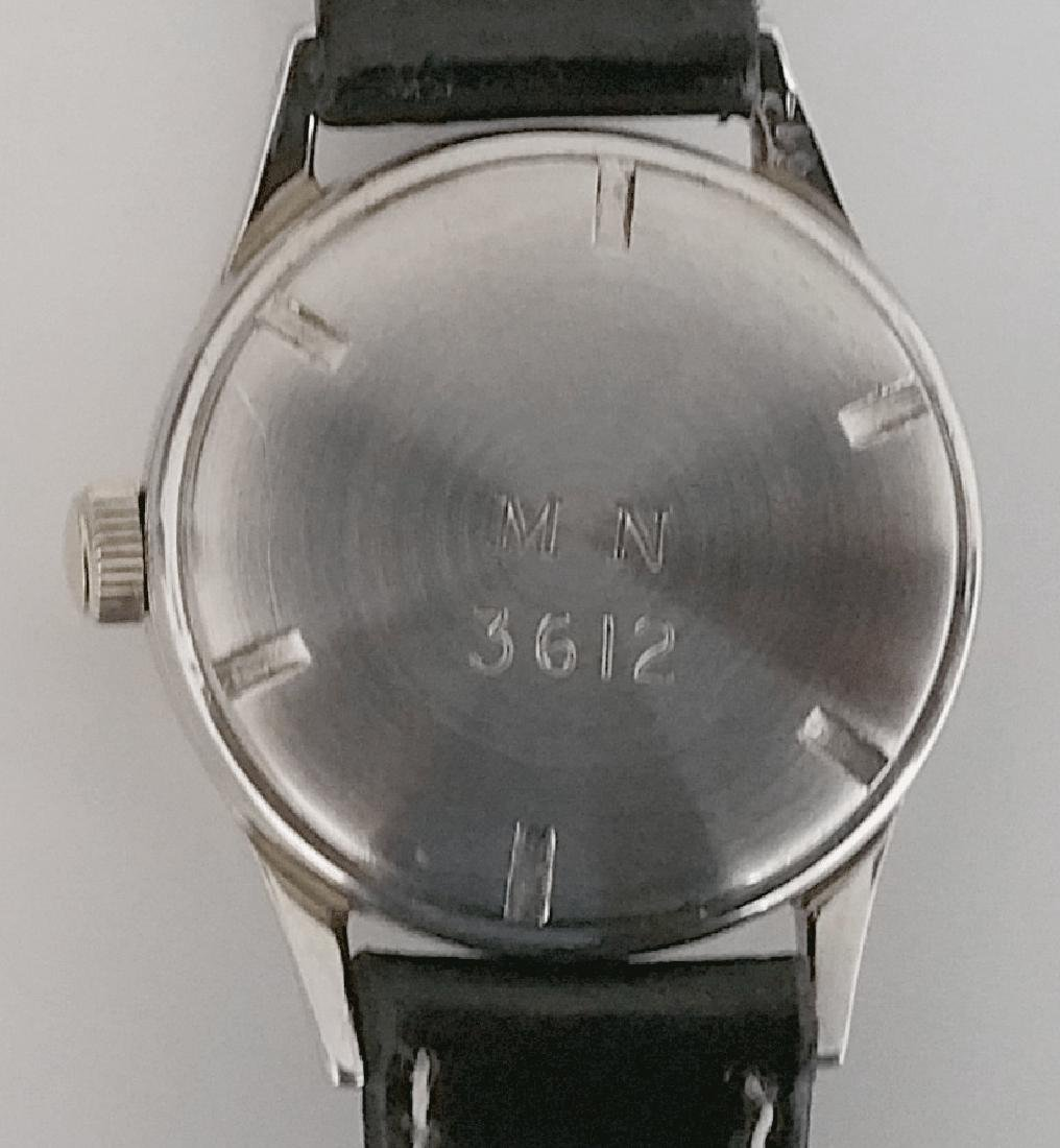 Vintage Longines Marine Nationale French Navy Watch - 5