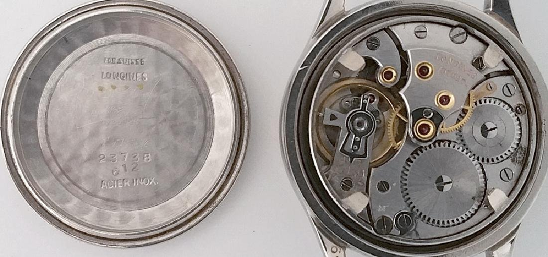 Vintage Longines Marine Nationale French Navy Watch - 6